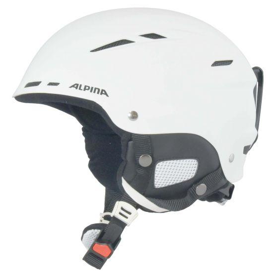 Alpina, Biom ski helmet, skihelm, matt wit