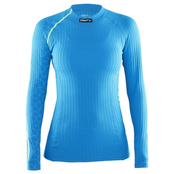 Craft Be Active Extreme CN W, Thermo Shirt Dames, Blauw