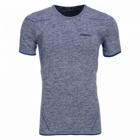 Craft Be Active Comfort RN SS M, Thermo Shirt Heren, Deep blauw (Ski kleding heren)