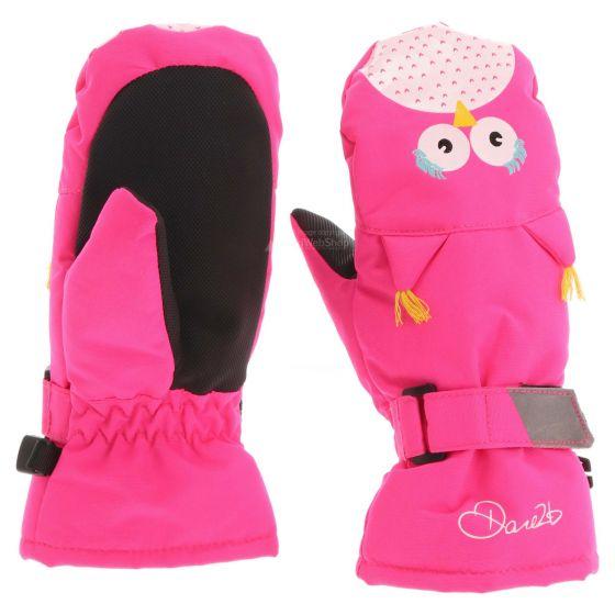 Dare2b, Watch out Mitt skiwanten, kinderen, owl cyber roze