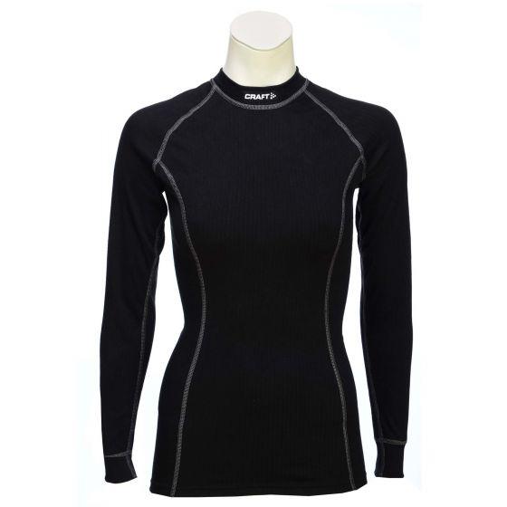 Craft Be active, thermo shirt crewneck LS dames, zwart