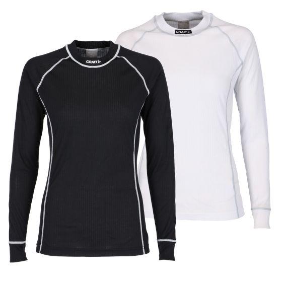 Craft Set Shirt, Shirt Active 2-pack, dames, zwart en wit