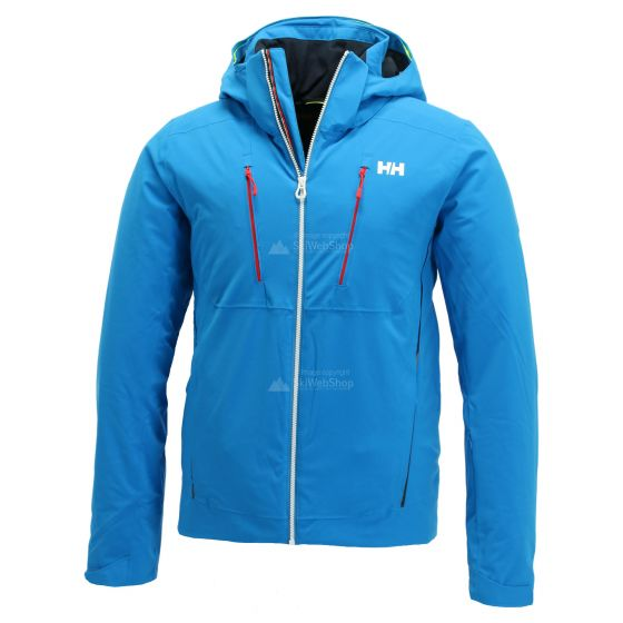 Helly Hansen, Alpha 3.0 ski-jas heren electric Blauw