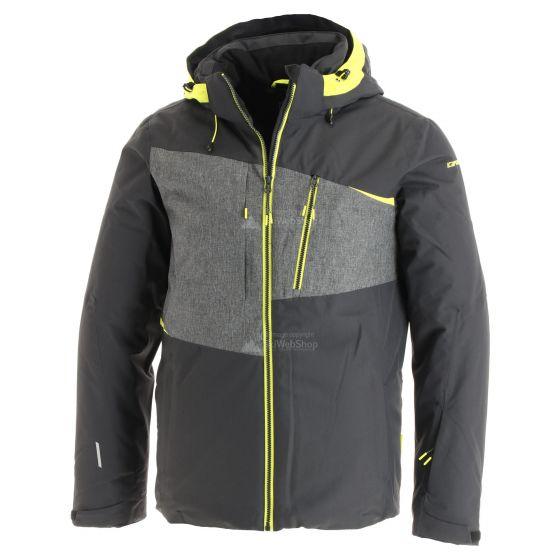Icepeak, Carver, ski-jas, heren, anthracite grijs