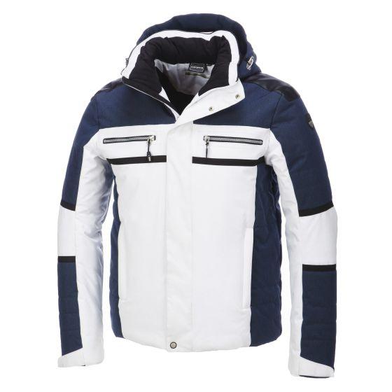 Icepeak, Cooper, gewatteerde ski-jas, heren, zwart-wit