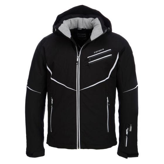 Icepeak, Nick, ski-jas, heren, zwart (Ski kleding heren)