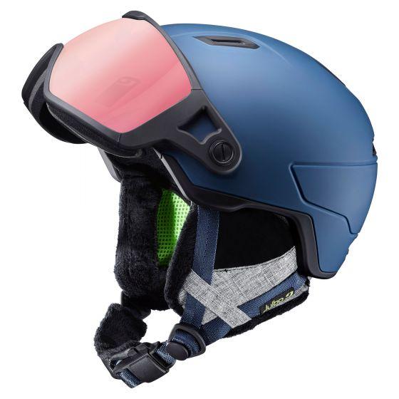 Julbo, Globe skihelm met vizier blauw
