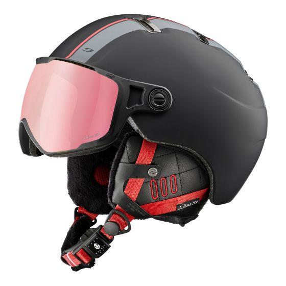 Julbo, Sphere skihelm met vizier rood/zwart