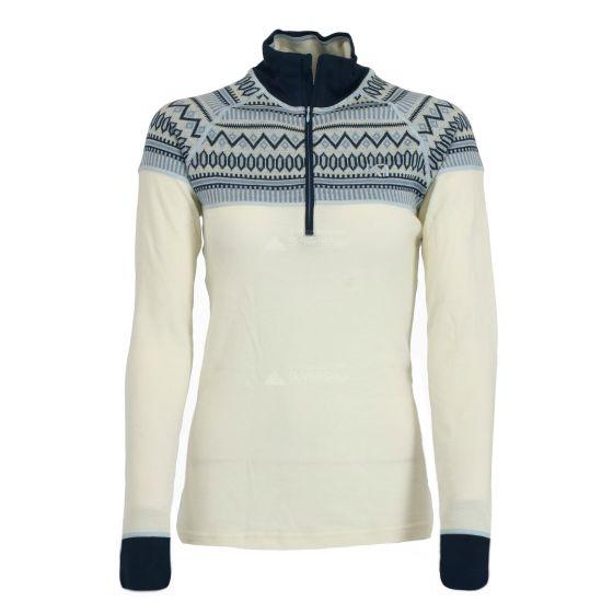 Kari Traa, Lokke H/Z shirt, thermoshirt, dames, Calm wit