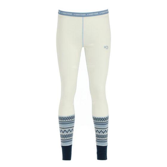 Kari Traa, Lokke pants, thermobroek, dames, Calm wit