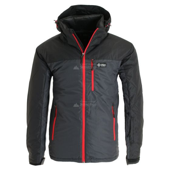 Kilpi, Flip, ski-jas, grote maten, heren, dark grijs