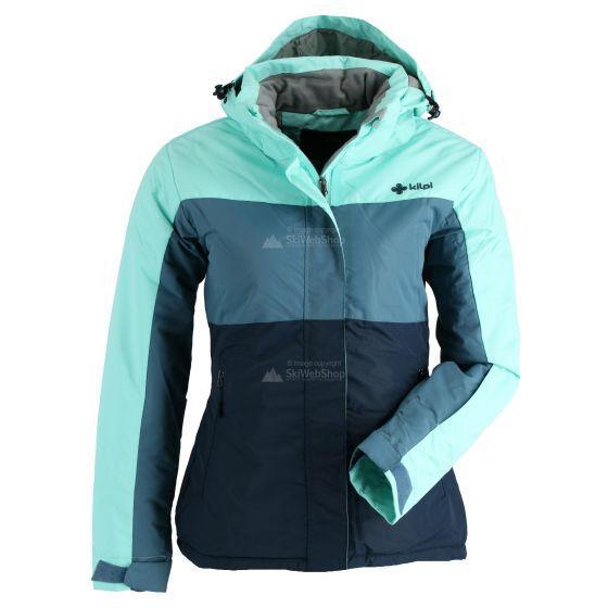 Kilpi, Mils, ski-jas, grote maat, dames, blauw