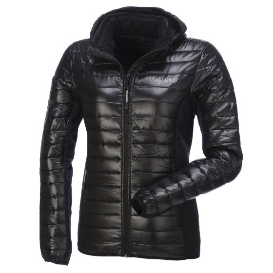 Kilpi, Nektaria ski-jas, Dames, Zwart (Ski kleding dames)
