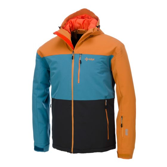 Kilpi, Hokaido, ski-jas heren, blauw bruin