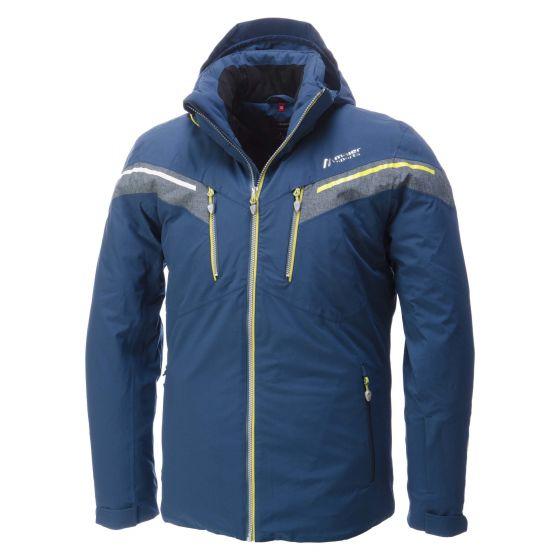 Maier Sports, Aneto, ski-jas heren, Majolica blauw (Ski kleding heren)