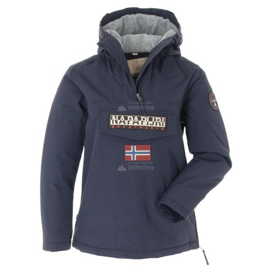 Napapijri, Rainforest Winter 3 Anorak, winterjas, dames, Marine blauw