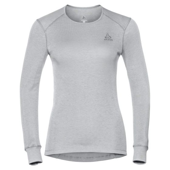 Odlo, Active Warm BL, thermoshirt, dames, grijs