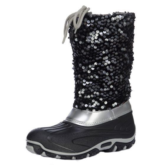 Skyline, Canadian line, snowboots, dames, zwart (Ski sokken)
