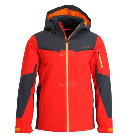 Spyder, Chambers GTX, ski-jas, heren, volcano rood