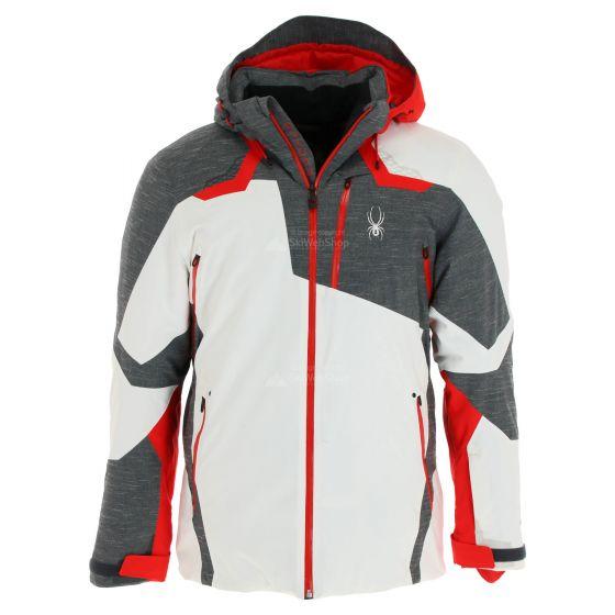Spyder, Leader GTX, ski-jas, heren, wit