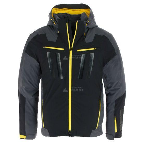 Spyder, Monterosa GTX, ski-jas, heren, ebony grijs/zwart