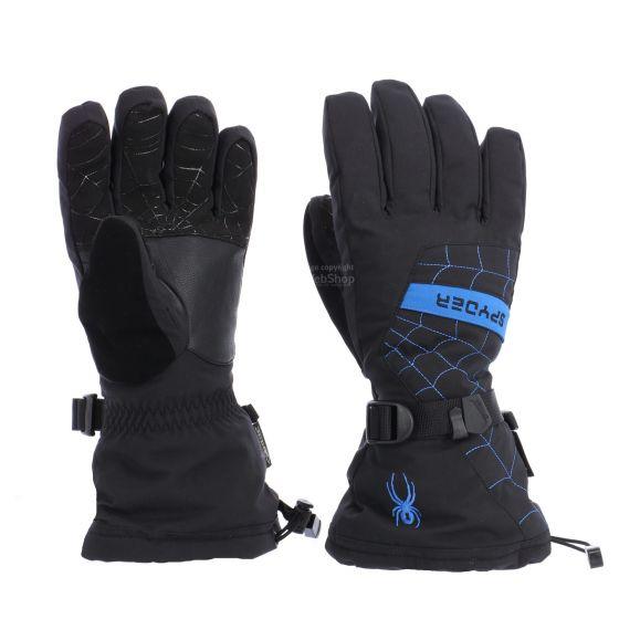Spyder, Overweb GTX ski, handschoenen, heren, zwart/sea blauw
