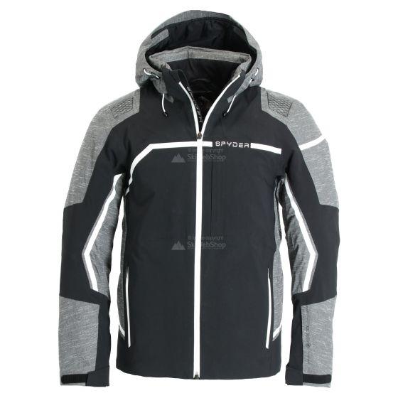 Spyder, Titan GTX, ski-jas, heren, ebony grijs/zwart