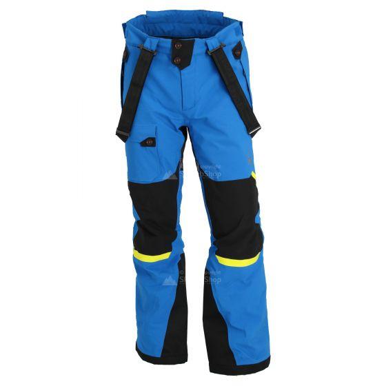 Spyder, Tordrillo, skibroek, heren, sea blauw/zwart/acid geel