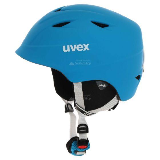Uvex, Airwing 2 pro, skihelm, lite blauw/wit mat