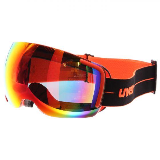 Uvex, Big 40 FM, skibril, oranje (Ski muts masker hoofdband toverband)