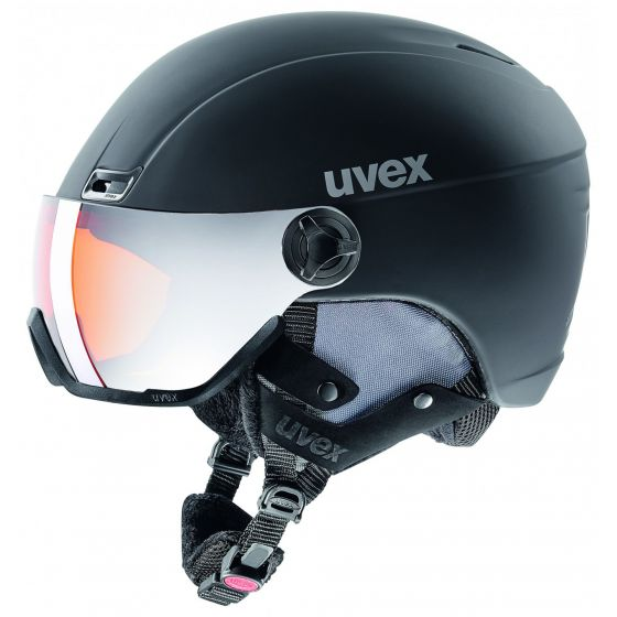 Uvex, Hlmt 700 visor vizierhelm Zwart