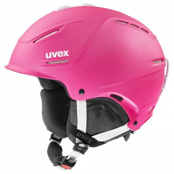 Uvex, P1us 2.0, skihelm, roze