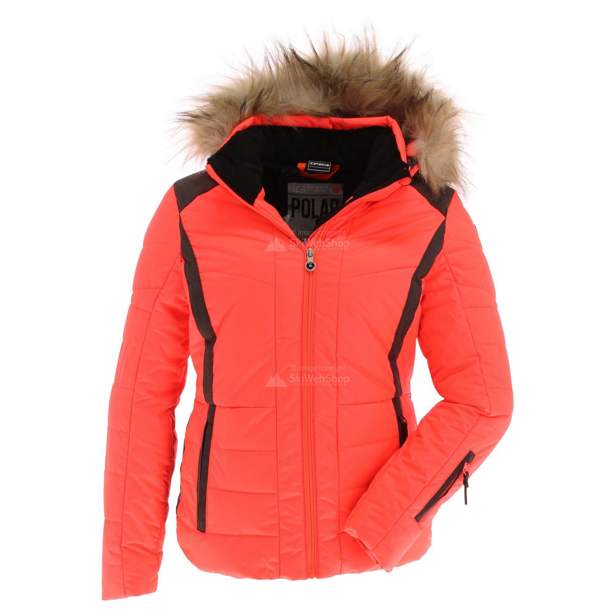 Icepeak, Cindy, ski jas, dames, hot roze • SkiWebShop