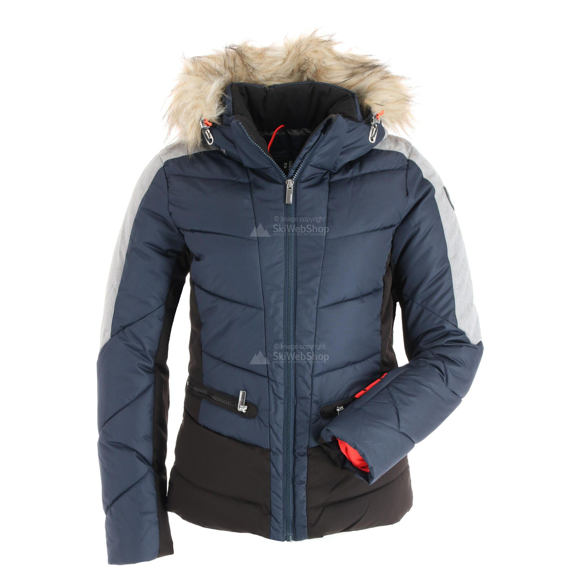 Icepeak, Electra, ski jas, dames, dark groen • SkiWebShop