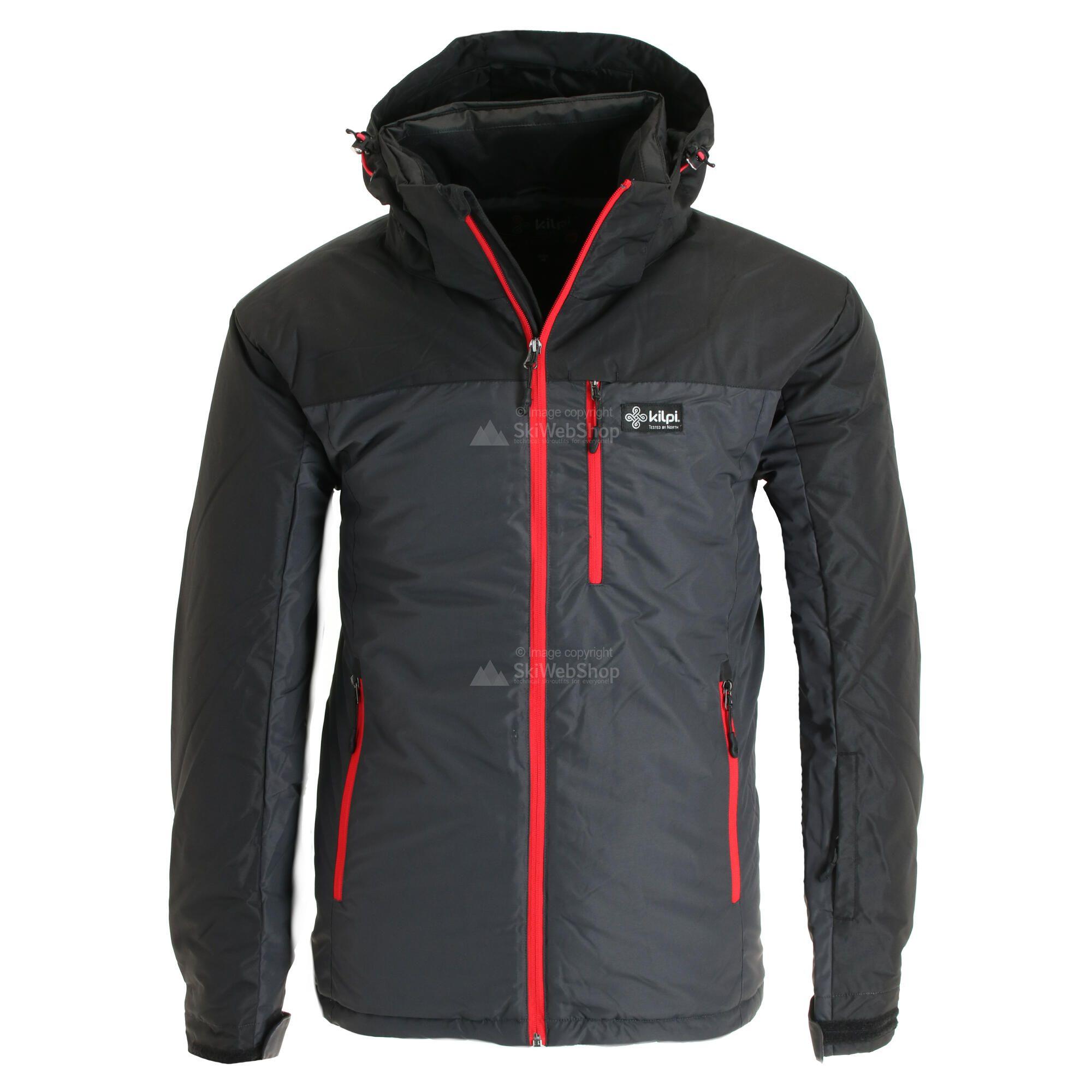 Kilpi, Flip, ski jas, grote maten, heren, dark grijs