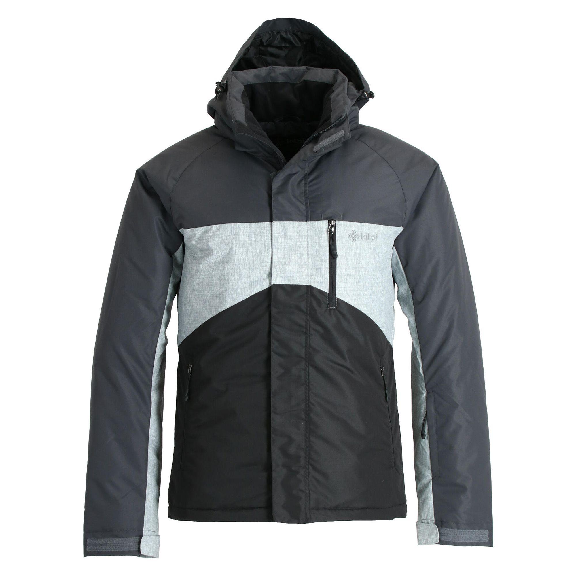 Kilpi, Ober, ski jas, grote maten, heren, zwart • SkiWebShop