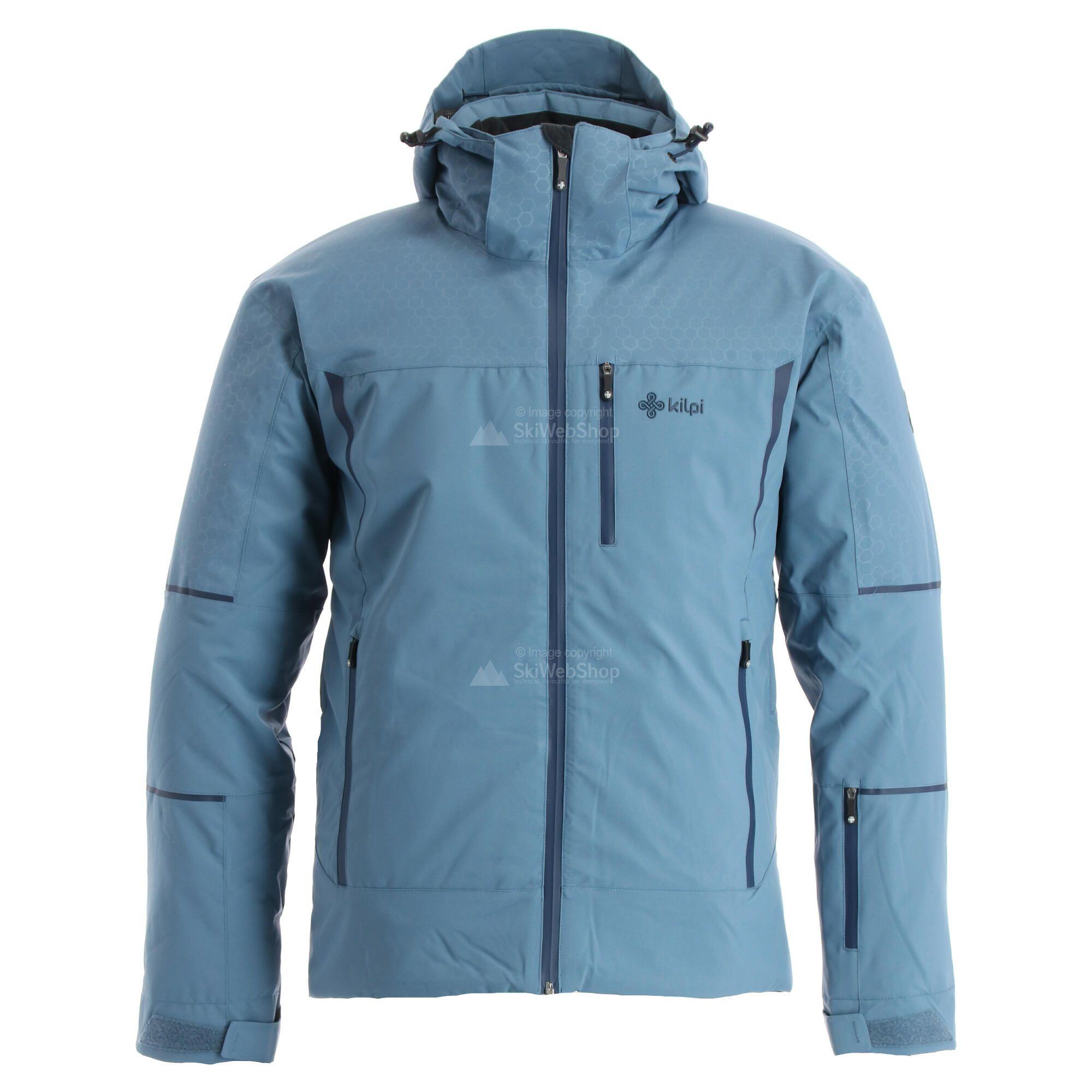 Kilpi, Tonn, ski jas, heren, grote maat, blauw • SkiWebShop
