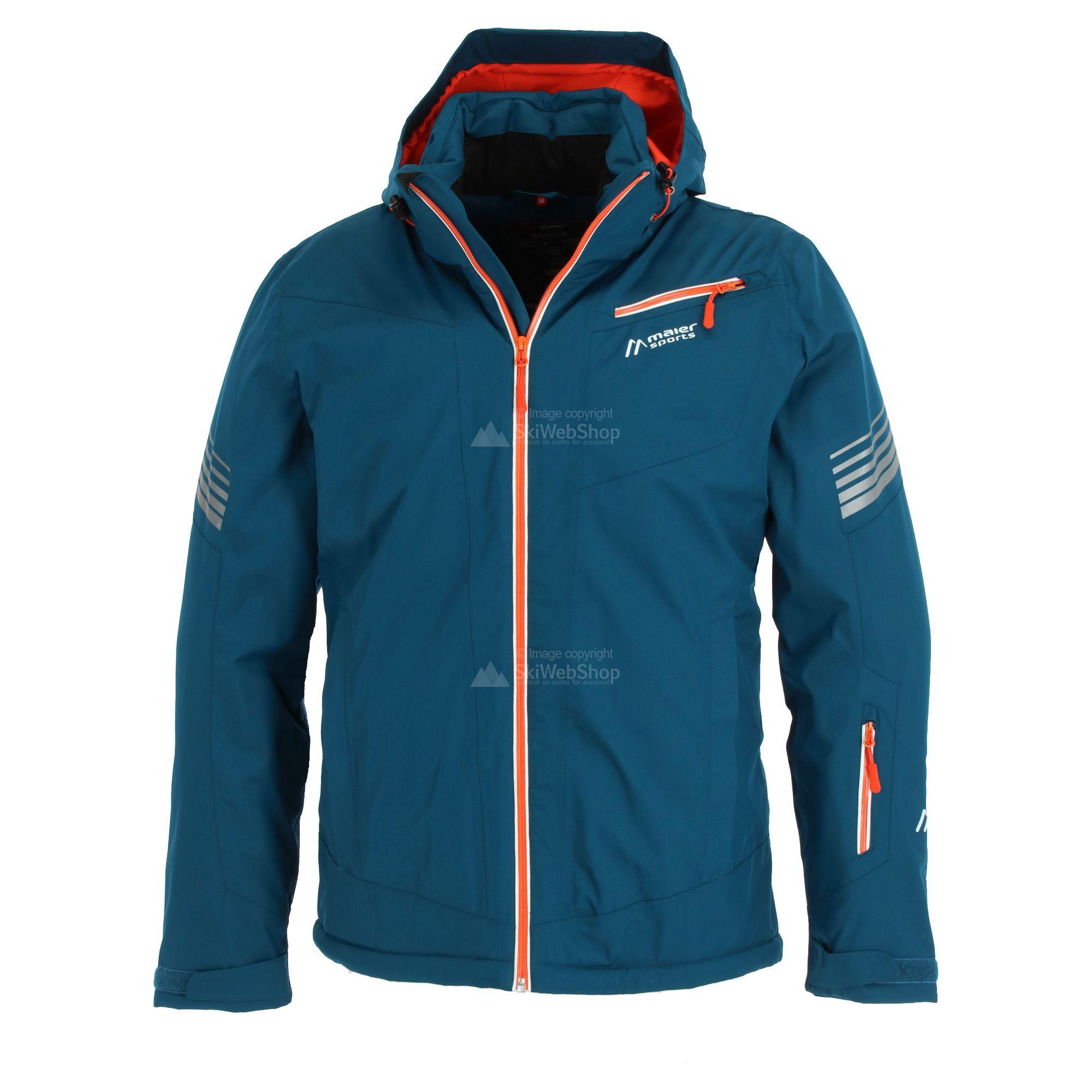 Maier Sports, Seebuck, ski jas, grote maten, heren, poseidon