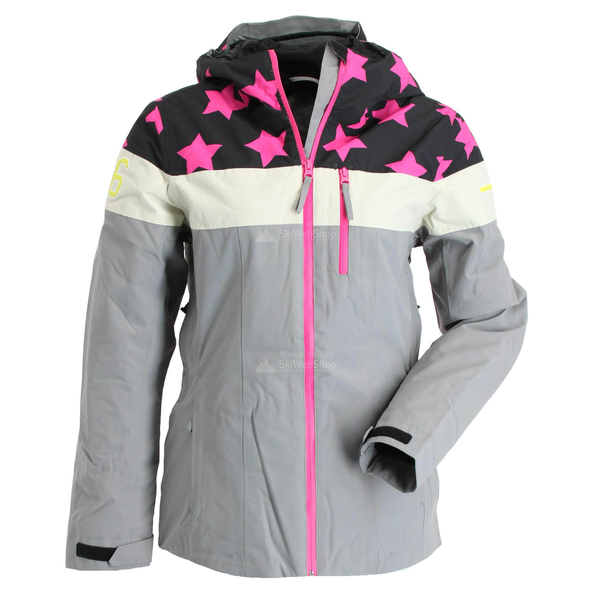 Icepeak, Clearlake, ski jas, dames, grijs