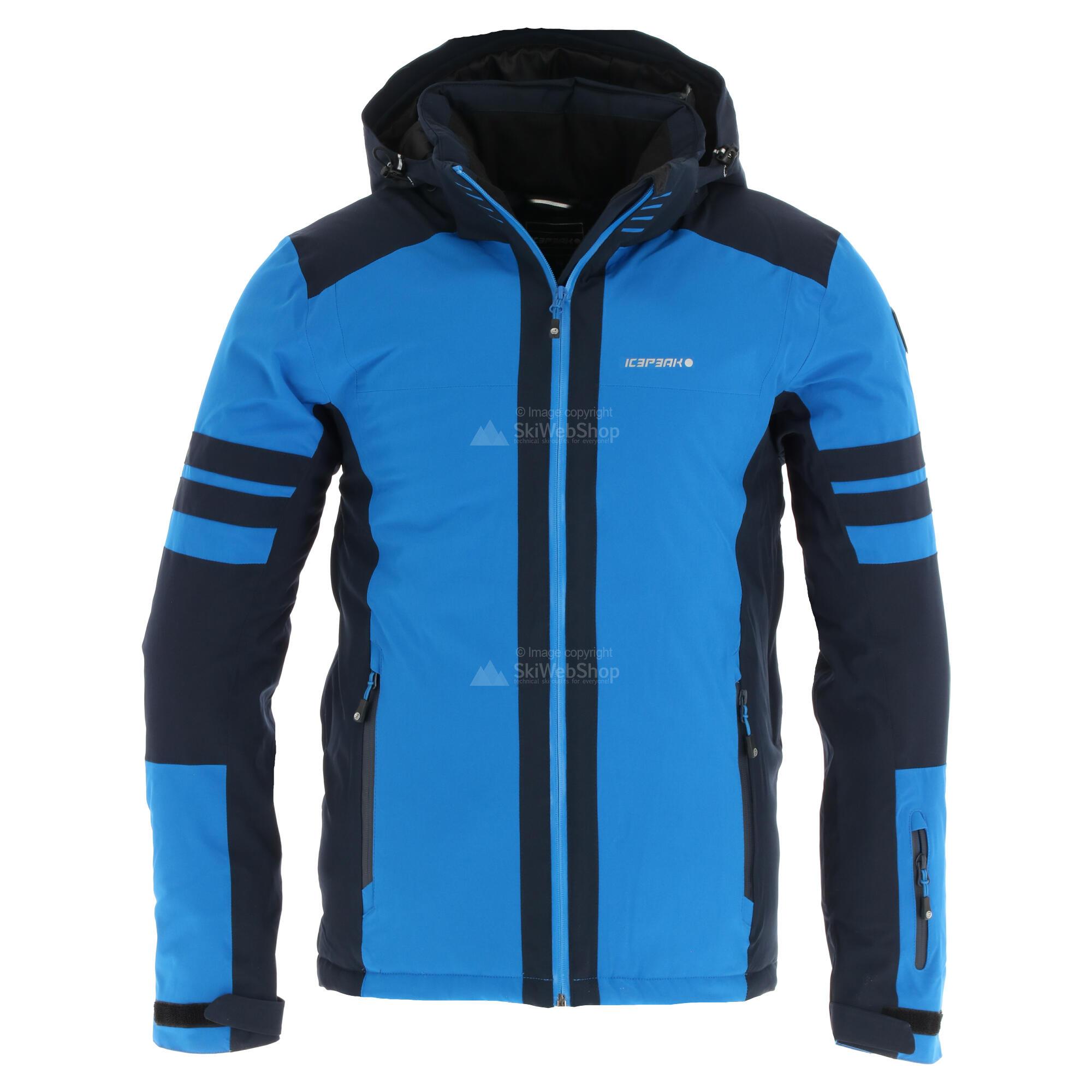 Icepeak, Fargo ski jas heren coral Rood • SkiWebShop