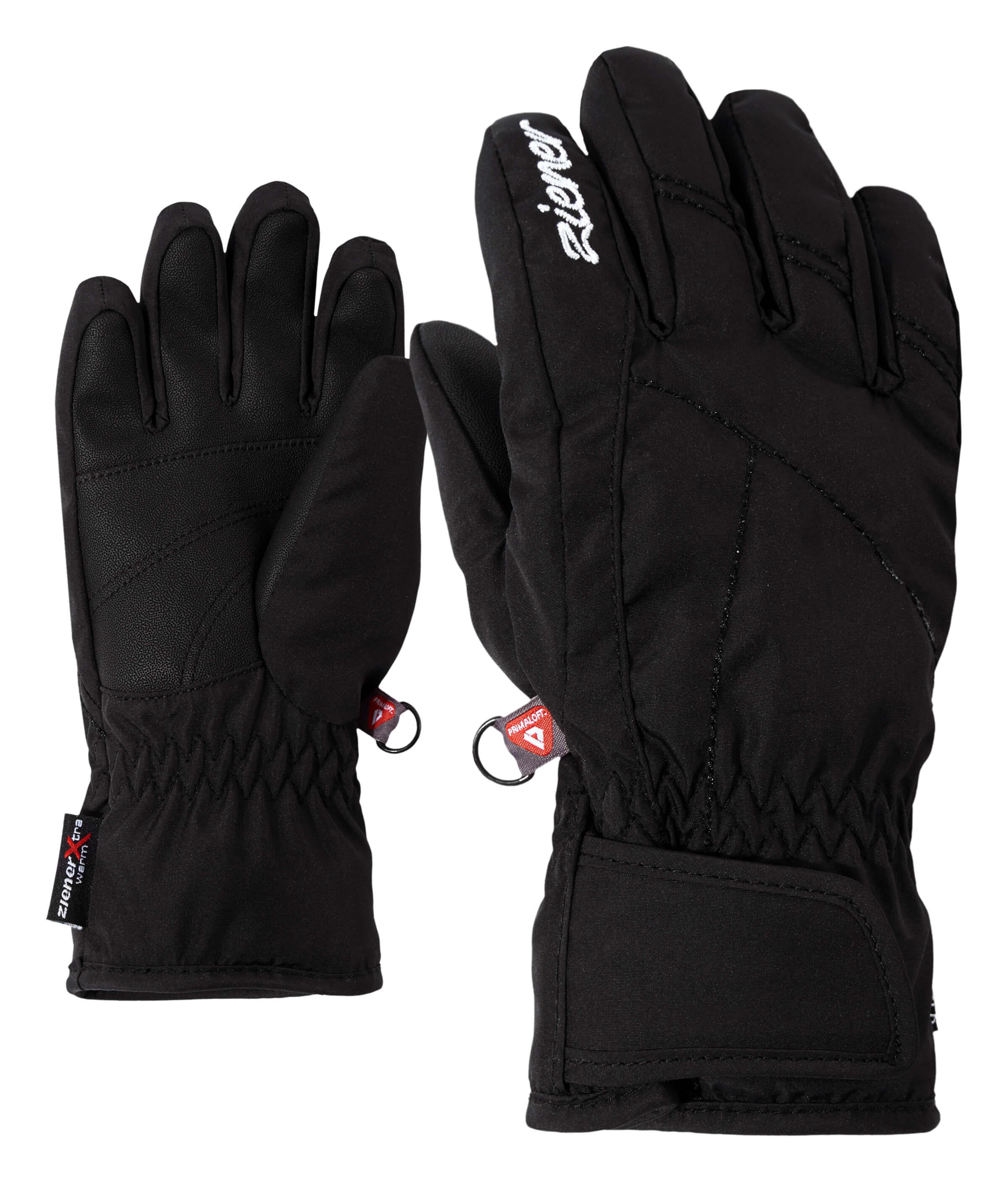 b1fd3976d26 Ziener, Lati AS PR, handschoenen, kinderen, zwart